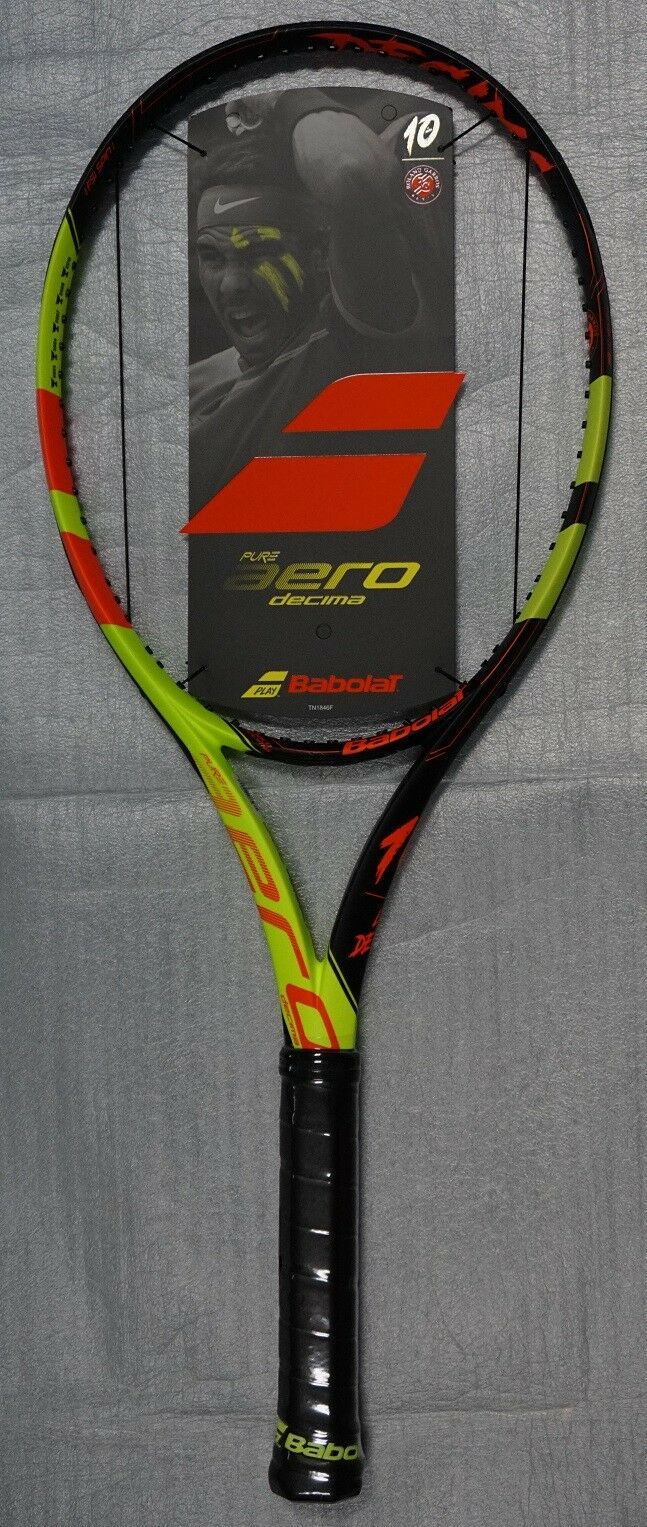 New Babolat Pure Aero La Decima French Open Tennis Racquet Nadal Racket 4 3 8