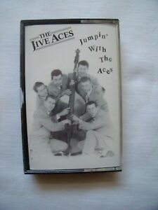 JUMPIN' WITH THE JIVES (The Official Bootleg) by THE JIVE ACES CASSETTE LP