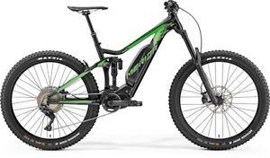 Merida eONE SIXTY 900 E-Bike 500Wh Fully E-Mountainbike silk black/green 2019