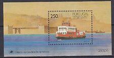 Portogallo post fresco 1989 MiNr. blocco 65 altro traghetto