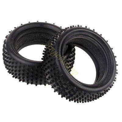 """RC 1:10 Car Off Road Buggy Front 06009 Rear 06025 2.2"""" Tyre tires Sponge Insert"""