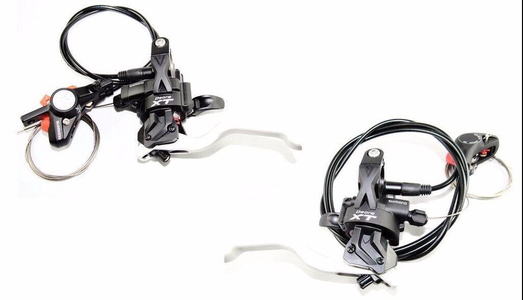Shimano Deore XT ST-M775  Dual Control Front & Rear Brake Shifter Caliper SET  credit guarantee