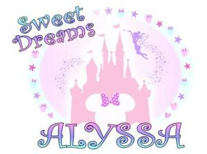 Disney Castle Pillowcase Quot Sweet Dreams Quot Personalized Any