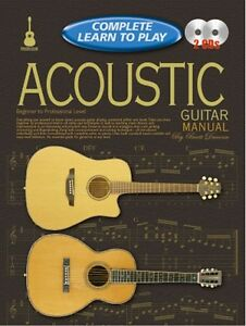 complete learn to play acoustic guitar manual cd ebay rh ebay co uk acoustic guitar manual acoustic guitar manual brett duncan