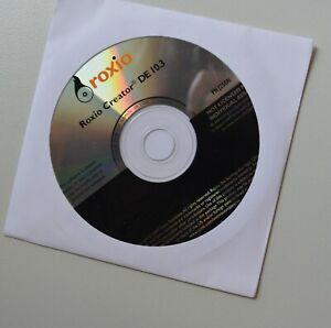 Roxio Creator De 10 3 Reinstall Software Dvd Cd Create Burn Media Audio P N J250 Ebay