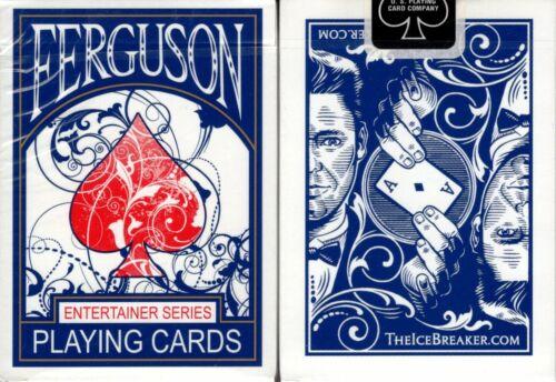 Ferguson Ice Breaker Deck Playing Cards Poker Size USPCC Custom Limited Sealed