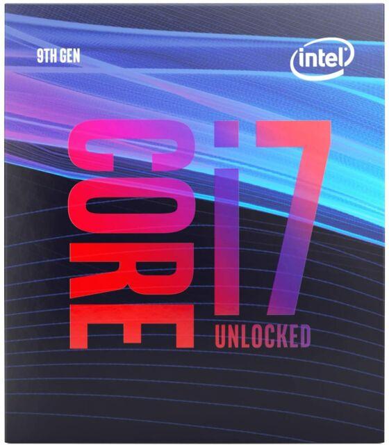Intel Core i7 9700K - 3.6 GHz - 8 Kerne - 8 Threads