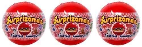 Surprizamals Wacky Series 3 Stuffed Animals 3 Capsules