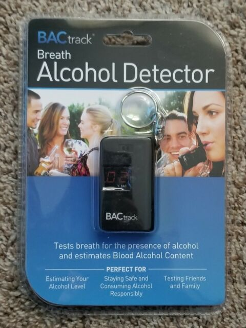 BACtrack Keychain Breathalyzer Portable Keyring Breath Alcohol Tester Black NEW