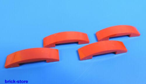 LEGO ® nr-4633914//1x4 Arc pont rouge//4 pièces