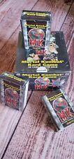 ONE Mortal Kombat Kard Game 60-Card Starter Deck Red Border 1996 Brady
