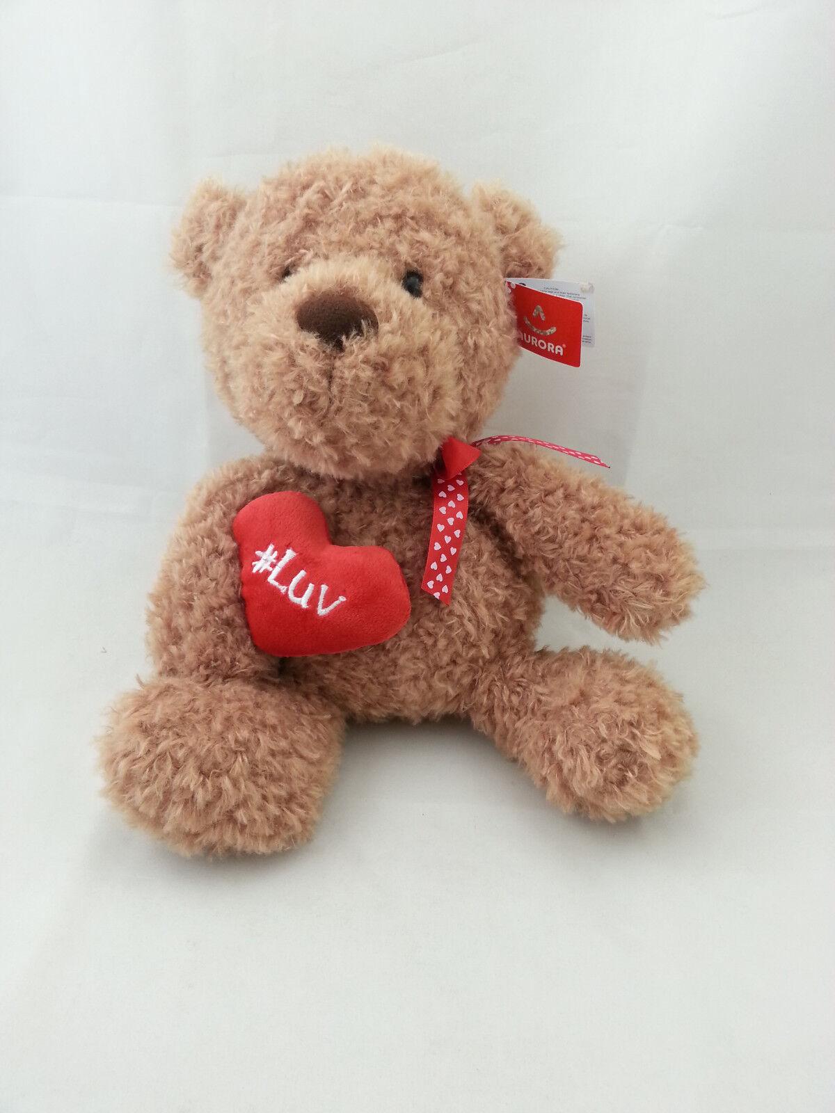 "#Luv 9/"" Teddy Bear Cream"