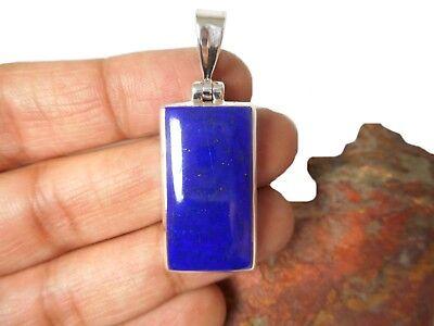 LAPIS   LAZULI   Sterling  Silver   925    Gemstone  PENDANT Gift  Boxed!