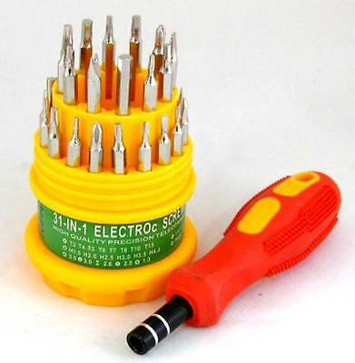 Screwdriver Kit 30 in 1 Set Tools for Computer cellphone Fast Shipping US Seller
