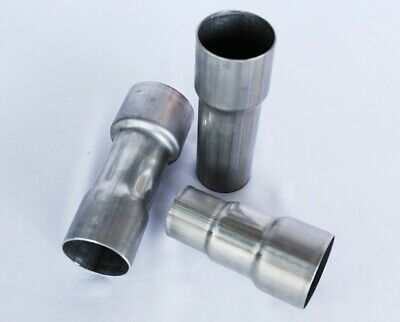 Exhaust Reducer 2 Way Pipe 44.45mm 50.80mm 57mm 63.00mm 76mm