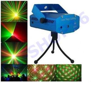 Mini Proiettore Laser Effetto Luci.Dettagli Su Mini Proiettore Laser Effetto Luci Per Disco Discoteca Dj Locali Feste Casa