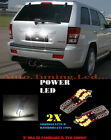 COPPIA LUCI TARGA JEEP GRAND CHEROKEE 05-10 T10 BIANCO 20 LED SUPER QUALITA