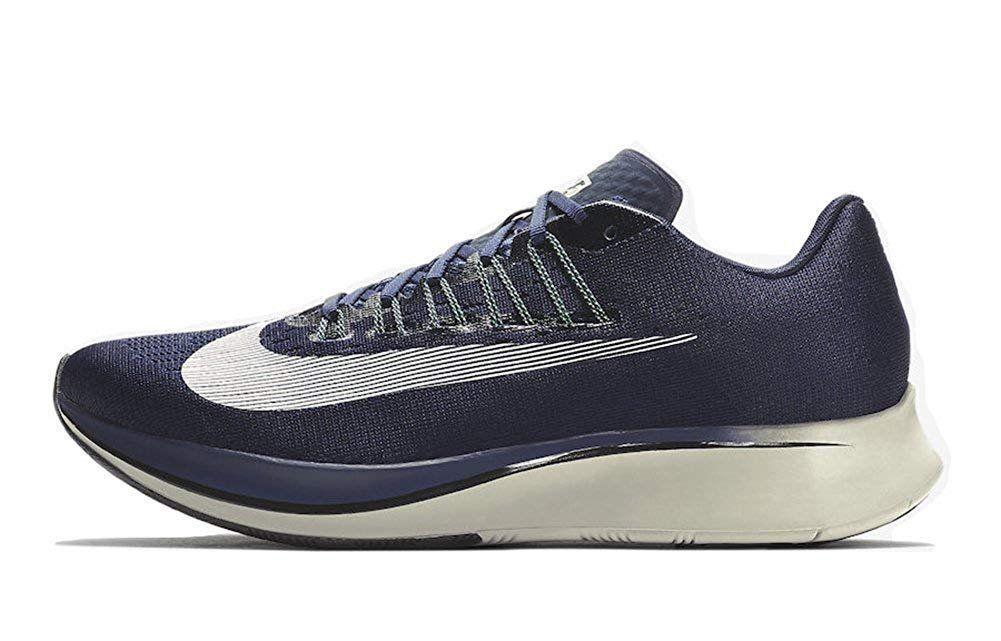 Men's Nike Zoom Fly Running shoes Obsidian bluee   White Sz 11 880848 405