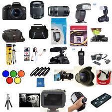 Canon EOS T6I 18-55mm STM 75-300mm YN 600EX RT 5 Years Warranty 60 Piece Pro KIT