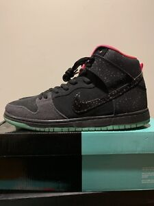 finest selection ac52b aba72 Image is loading Nike-Dunk-High-Premium-SB-Northern-Lights-313171-