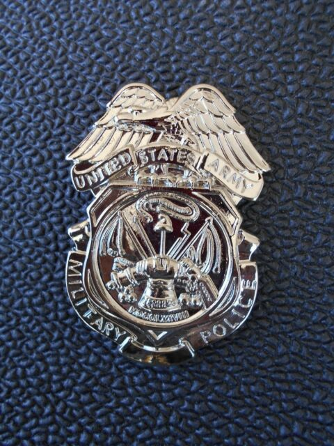 MP Lapel Pin / Hat Pin Badge   -   ARMY MILITARY POLICE