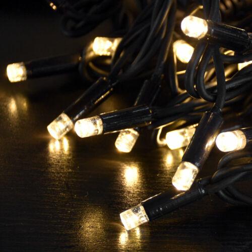 40x LED Lichterkette Innen Außen Weihnachts Beleuchtung Garten Lampen Living-XXL