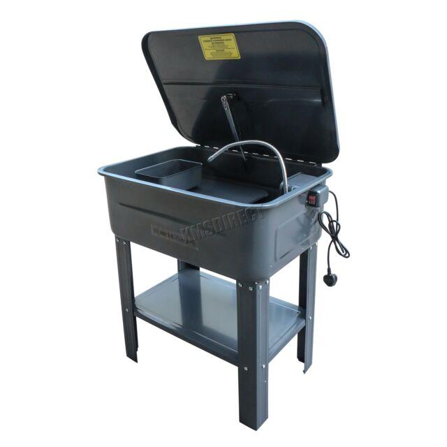 Switzer 20 Gallone Teil Unterlegscheibe mit Pumpe Tank Reiniger Reinigung Bank
