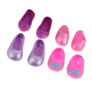 4-Pairs-Doll-Shoes-Sandal-Slippers-for-25cm-Mellchan-Doll-Outfit-Accessories
