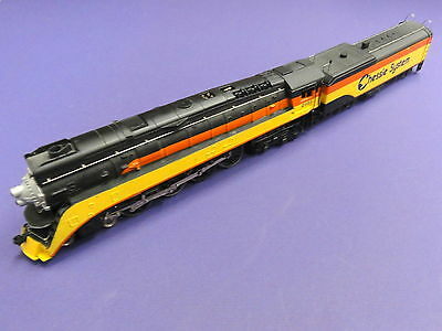 BACHMANN (HO) GS-4 4-8-4 Loco & Tender RARE CHESSIE Version - not operating