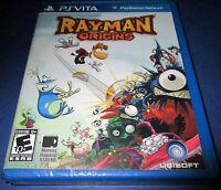 Rayman Origins Sony Playstation Vita Factory Sealed Free Shipping