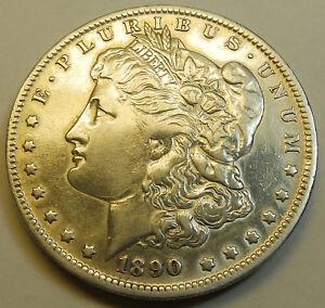 Usa One Dollar 1890 O Silver Morgan Very Nice Coin Ebay
