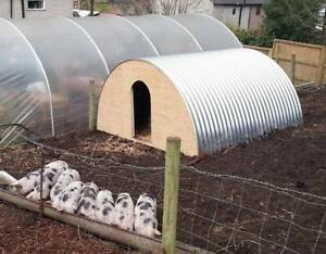 Pig Ark Sheets Shepherds Hut Roofing Dutch Barn Curved