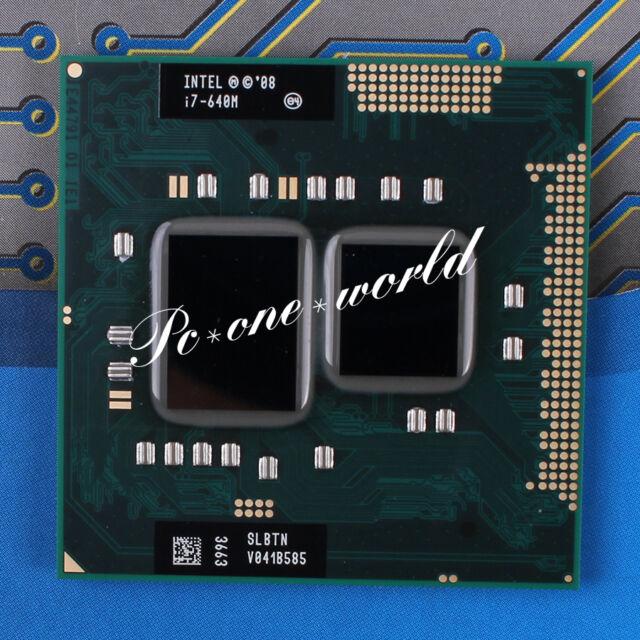 100% OK SLBTN Intel Core i7-640M 2.8 GHz Dual-Core Laptop Processor CPU