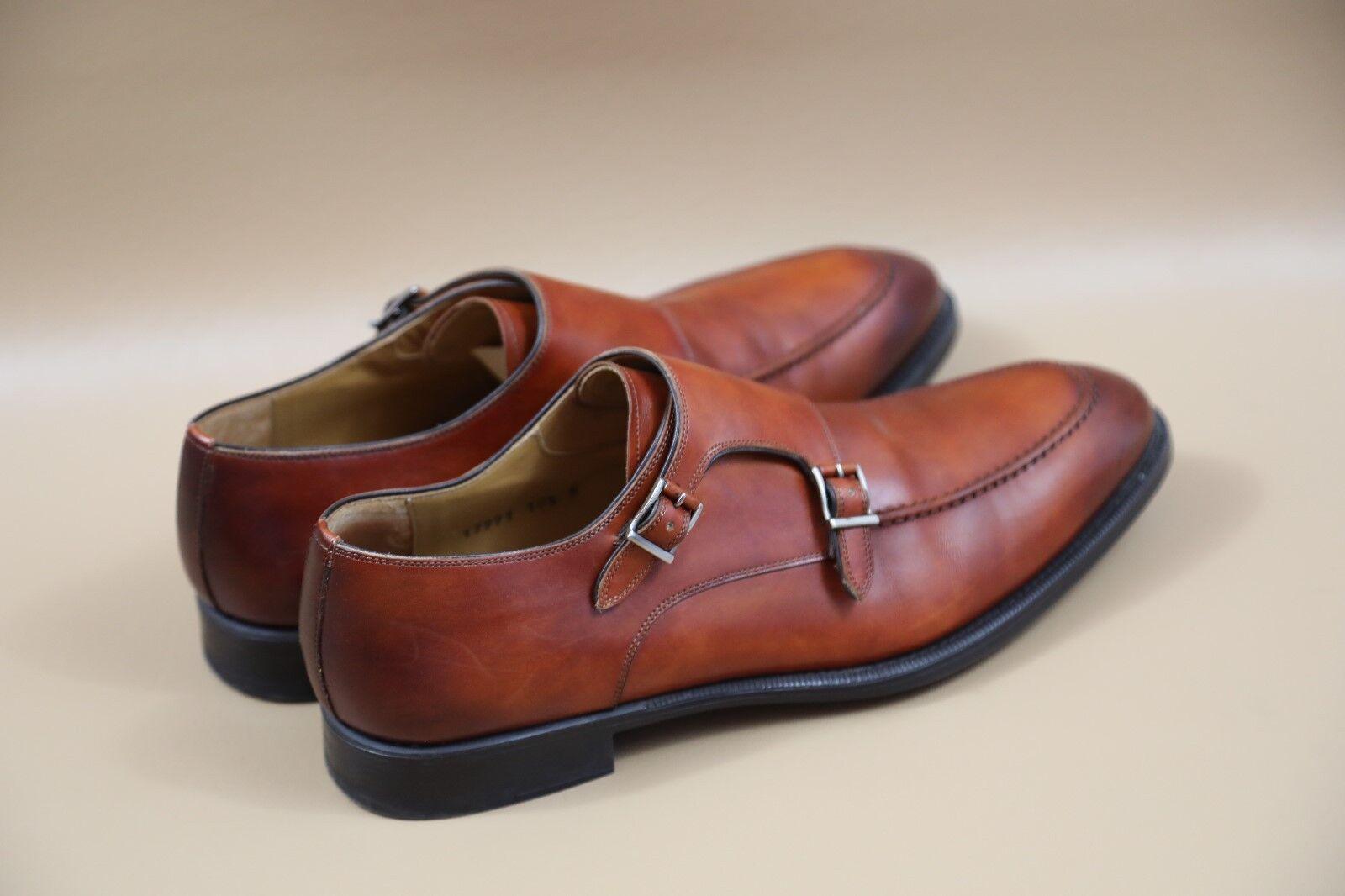 Magnanni Magnanni Magnanni 'Talbot' Double Strap scarpe Dimensione 10.5  RETAIL  350 bfda06
