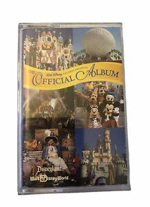 Vintage Official Album of Disneyland/Walt Disney World Song Cassette Tape- Rare