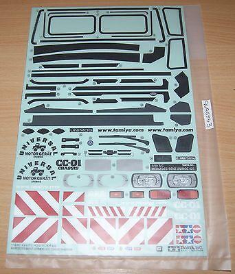 Tamiya Pajero//Wrangler//Mu//Unimog//FJ Cruiser//CC01//CC02 9805482 Diff Cover Bag