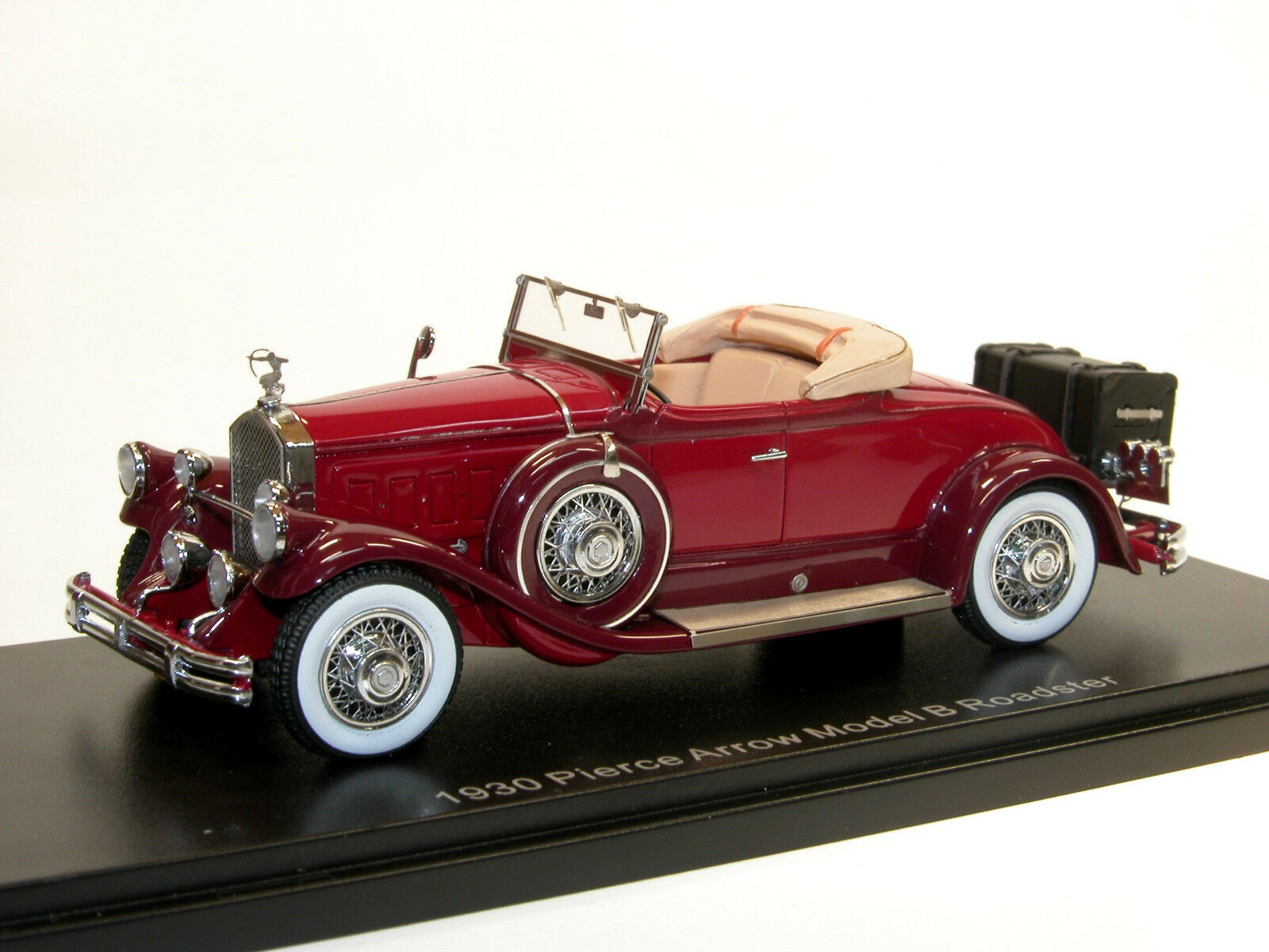 Esval models 1930 Pierce Arrow Model B roadster top down 1 43 highly detailed