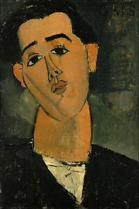 Poster, Many Sizes; Juan Gris By Amedeo Modigliani C1915