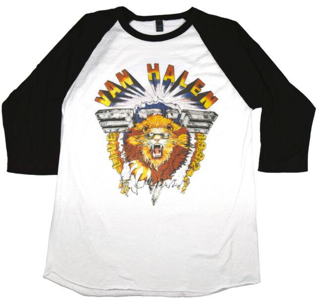 Van Halen Diver Down 1982 Live Rock Concert T Shirt For Sale Online Ebay