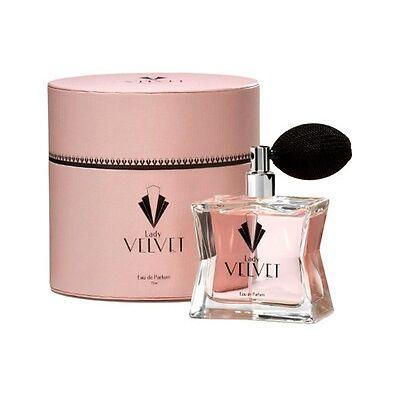 LADY VELVET 75ml Eau de Parfum Perfume Colonia PRODUCTO OFICIAL SERIE ANTENA 3