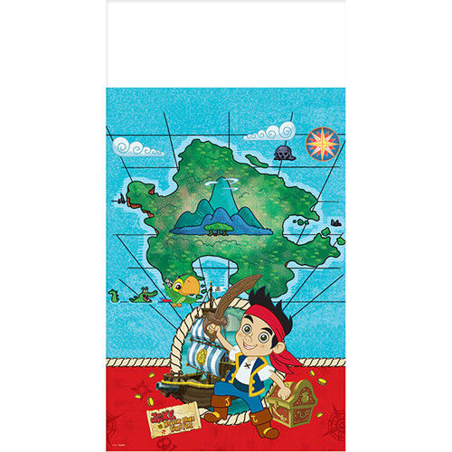 JAKE and the NEVER LAND PIRATES PLASTIC TABLECOVER ~ Birthday Party Supplies