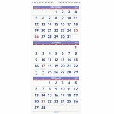At A Glance 2022 3 Month Reference Vertical Wall Calendar Large 12 X 27