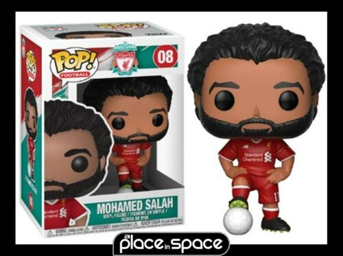 MOHAMED SALAH VINYL FIGURE #8 FUNKO POP PREMIER LEAGUE FOOTBALL LIVERPOOL