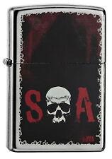 Zippo en TU MECHERO Sons of Anarchy-Skull SOA calavera SAMCRO nuevo embalaje original
