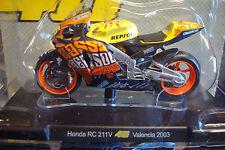 Valentino Rossi #46 Honda RC 211V Worldchampion MotoGP 2003 Valencia  1:18