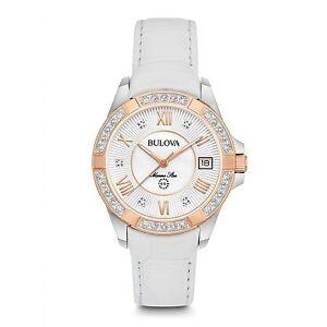 Bulova-98R233-Women-039-s-Marine-Star-Diamond-Wristwatch