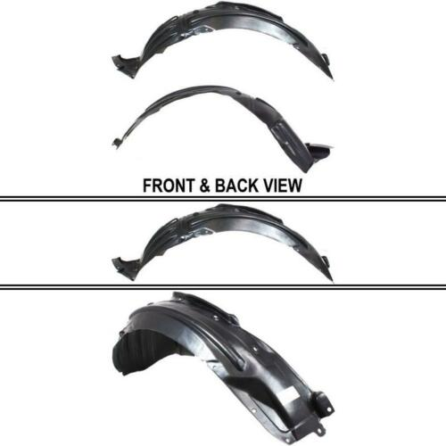 Driver Side Fender Splash Shield for Acura MDX 2007-2013 New AC1248123 Front