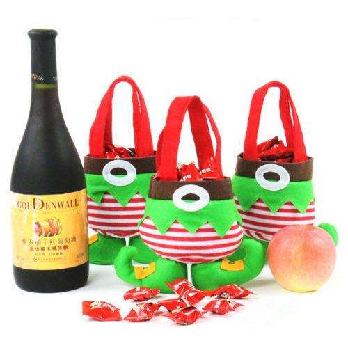 Fancy Santas Pants Treat Candy Bags Elf Spirit Xmas Party Decor Christmas Lot