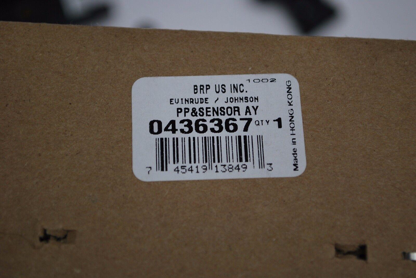 New OEM Johnson Evinrude Power Pack /& Sensor 436367 150-175hp BRP//OMC