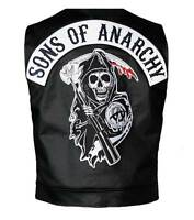 Sons Of Anarchy Official Vest Officially Licensed Jax Teller Samcro- Large